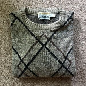 Vintage London Fog Acrylic and Wool Sweater